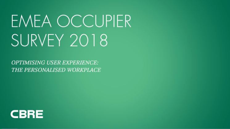 EMEA Occupier Survey 2018
